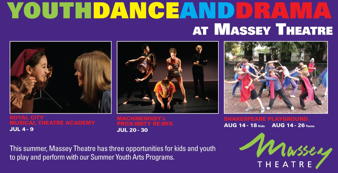 Youth Dance and Drama at Massey