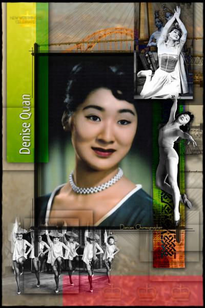 Denise Quan Mason Born in New Westminster, B.C., Denise began her dance career at 303 3rd Ave with Josephine Slater.