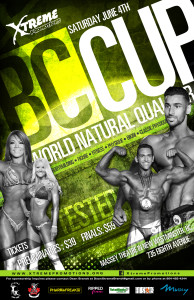 June 4 Bodybuilding Event