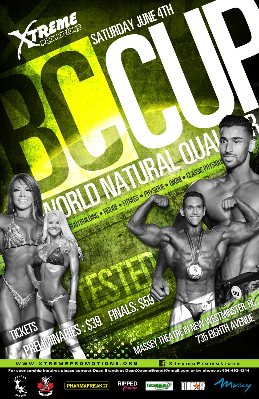 June 4 Bodybuilding Event
