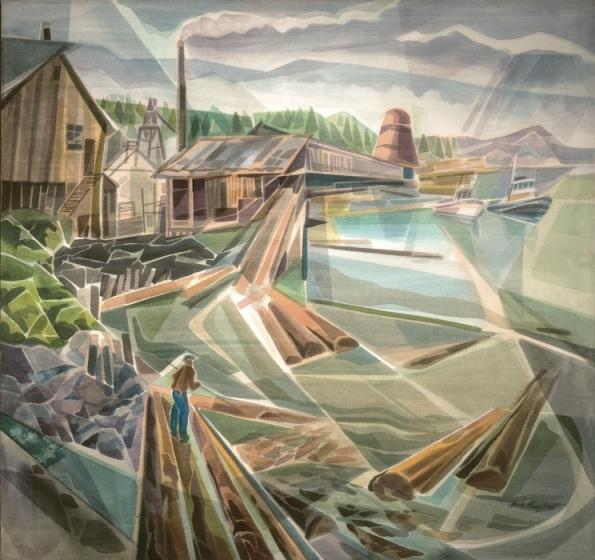 Old Mill on Fraser