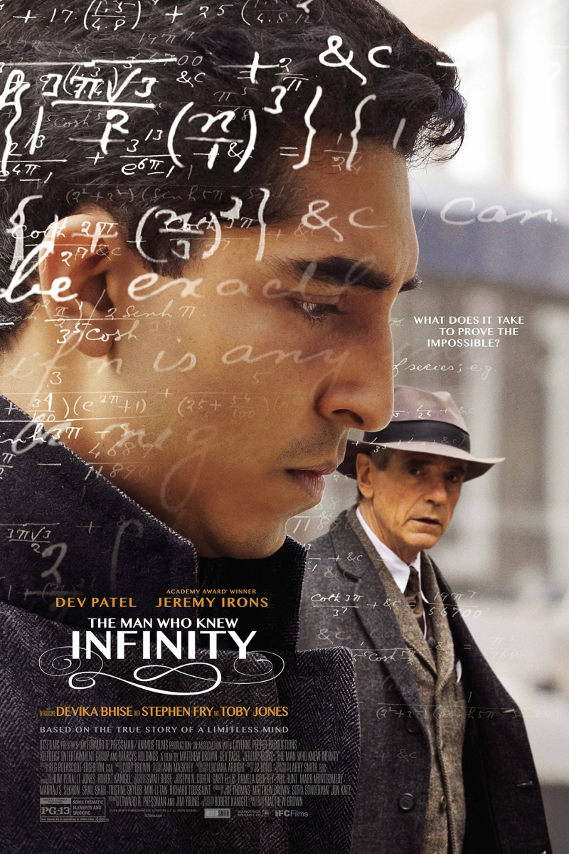 The Man Who Knew Infinity at Massey