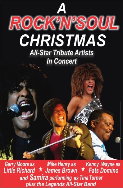 Rock 'n' Soul Christmas   Massey Theatre