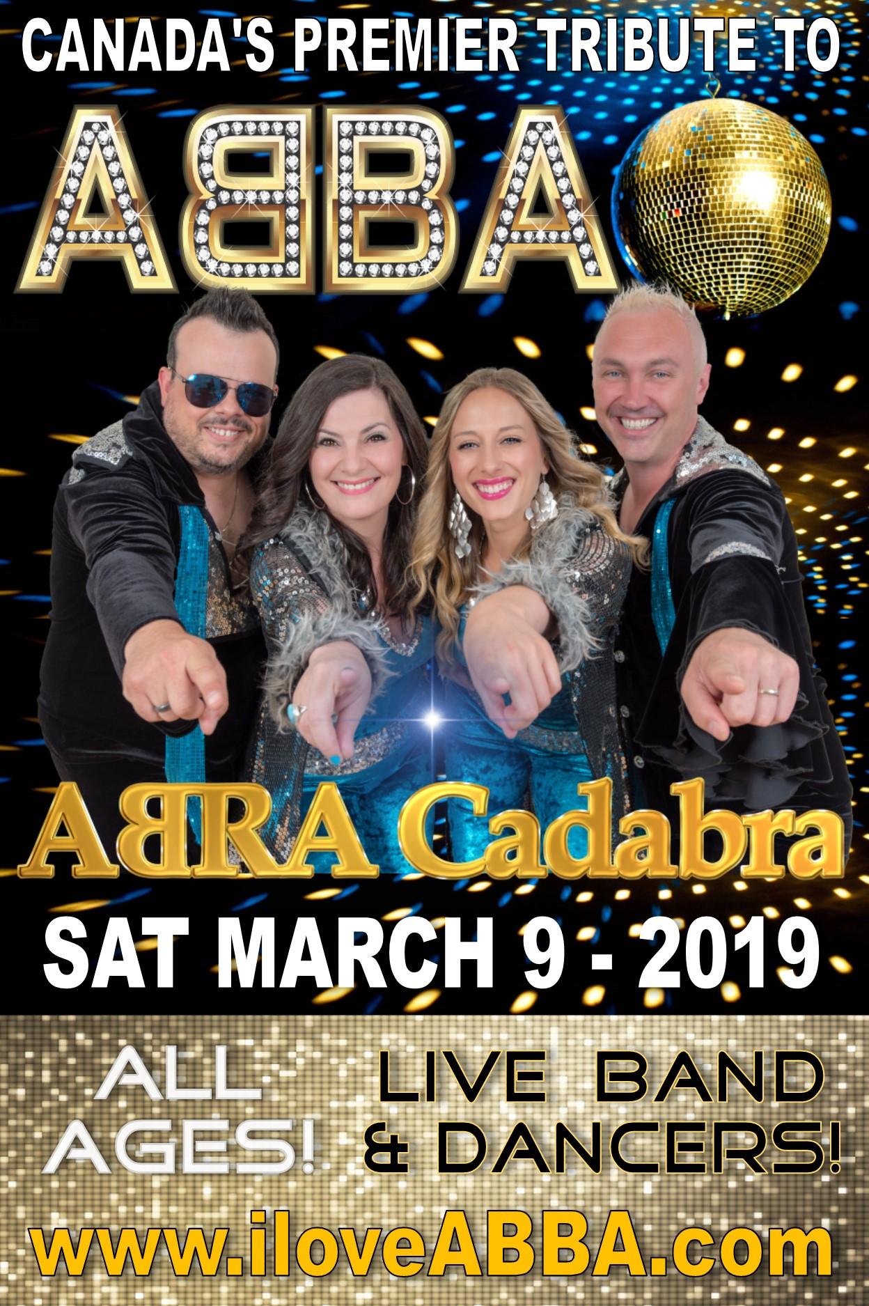 ABRA Cadabra – A Tribute to Abba | Massey Theatre