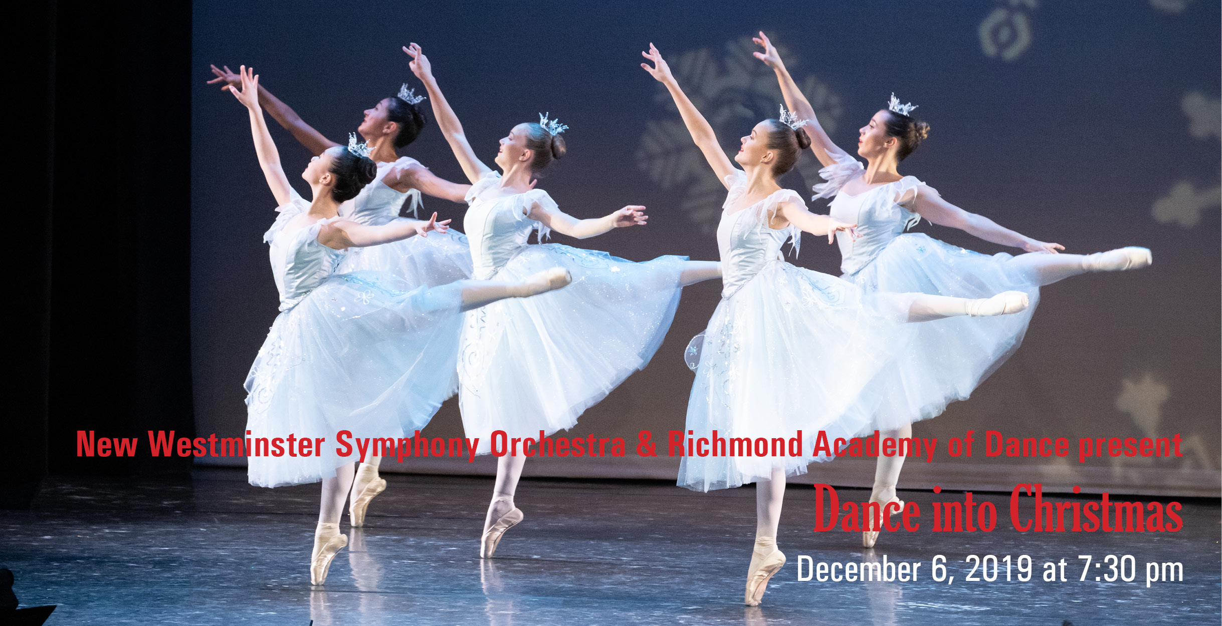 NWSO and RAD present Dance into Christmas