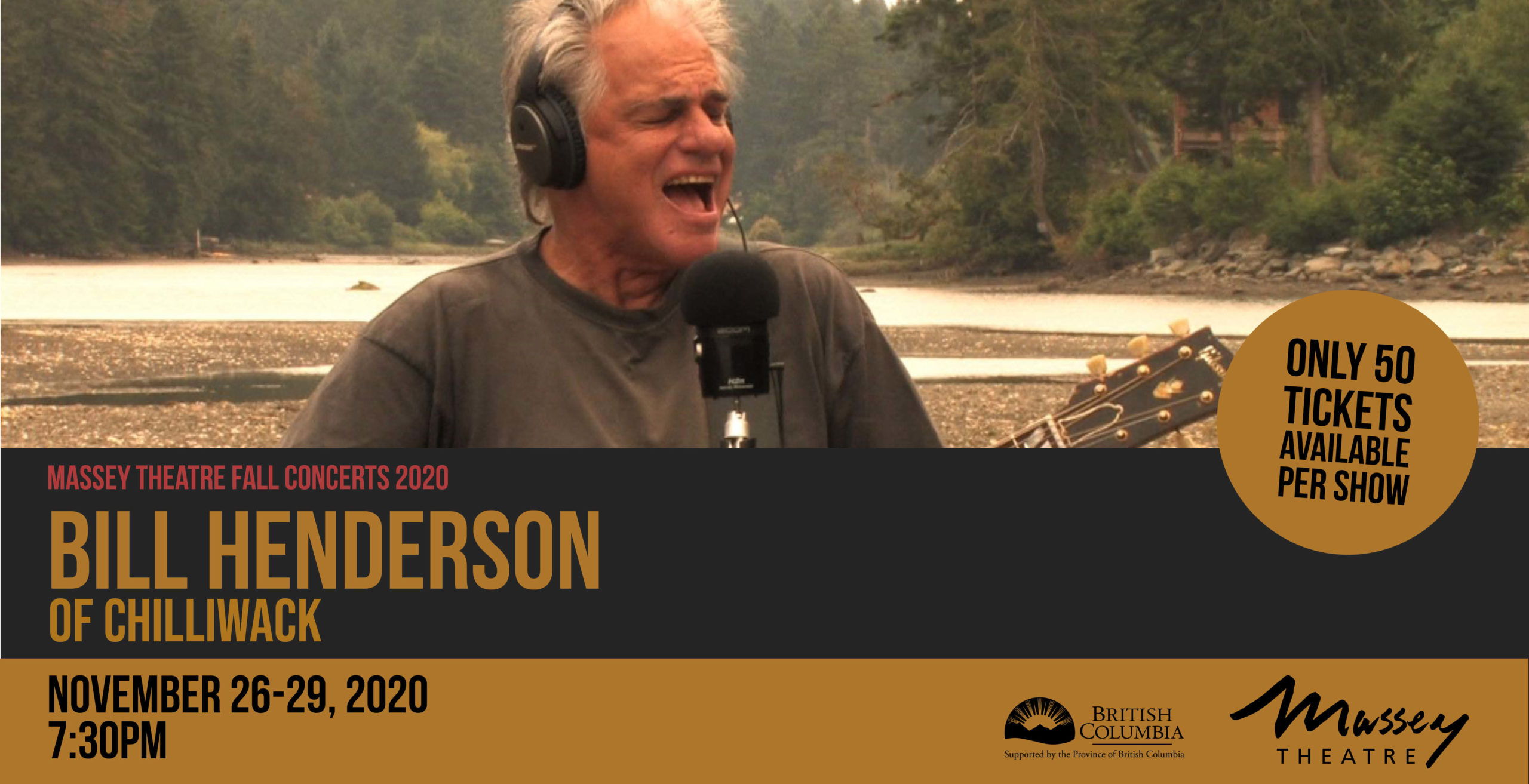 POSTPONED: Bill Henderson of Chilliwack