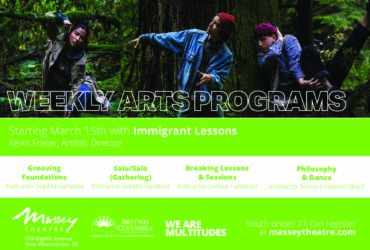 Immigrant Lessons Artist Residency at Massey Theatre